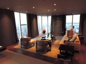 26th floor, the city, London